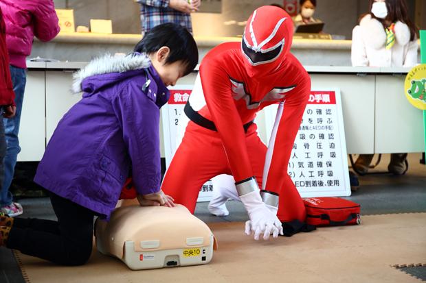 消防防災サークル同志社 FAST_体験しよう!AEDを使った命の救い方!_イザ!美かえる大キャラバン!