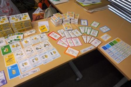 カードゲーム「シャッフル」「たすカルテット」
