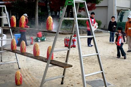 IKCin大庄小学校_水消火器